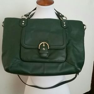 Coach Campbell Izzy Shoulder Bag w/wallet & checkb